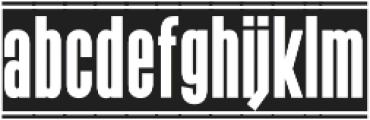 The Black Box otf (900) Font LOWERCASE