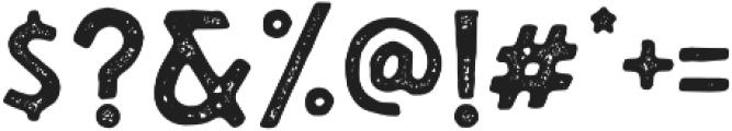 The Blackport Sans Stamp otf (900) Font OTHER CHARS