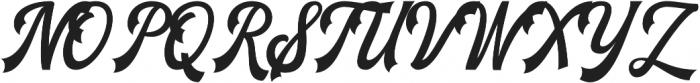 The Blendhes otf (400) Font UPPERCASE