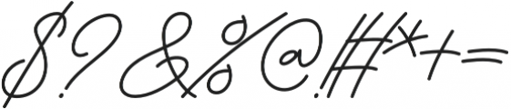 The Boorani Thampil Script otf (400) Font OTHER CHARS