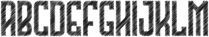 The Bridges Sketch otf (400) Font UPPERCASE