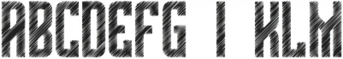 The Bridges Sketch otf (400) Font LOWERCASE