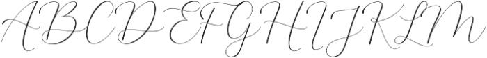 The Britney Regular ttf (400) Font UPPERCASE