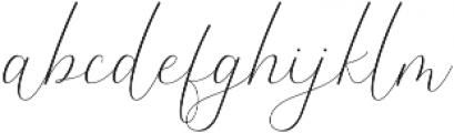 The Britney Regular ttf (400) Font LOWERCASE