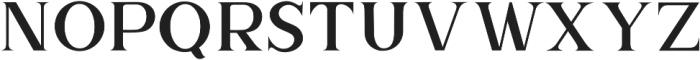 The Brittany Serif 2 otf (400) Font UPPERCASE