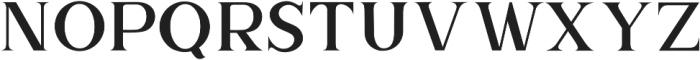 The Brittany Serif 2 otf (400) Font LOWERCASE