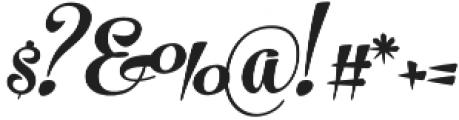 The Carpenter Bold Regular otf (700) Font OTHER CHARS