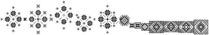 The Carpenter Patterns Regular otf (400) Font LOWERCASE