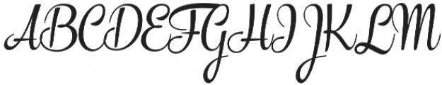 The Carpenter Regular Regular otf (400) Font UPPERCASE