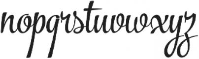 The Carpenter Regular Regular otf (400) Font LOWERCASE