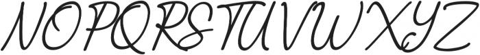 The Castellon Slant otf (400) Font UPPERCASE