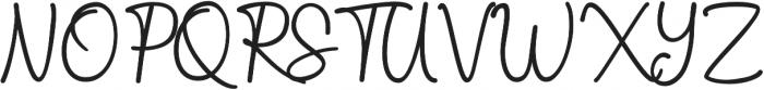 The Castellon otf (400) Font UPPERCASE