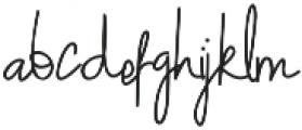 The Cengkir otf (400) Font LOWERCASE