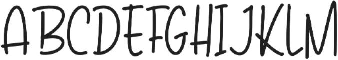 The Chocobites otf (400) Font UPPERCASE