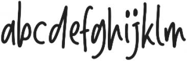 The Chocobites otf (400) Font LOWERCASE