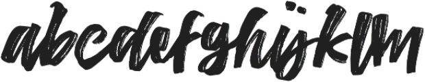 The Conquer otf (400) Font LOWERCASE