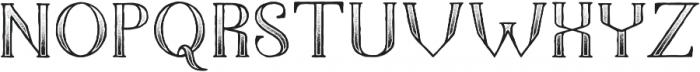 The Dark Titan Classic otf (400) Font UPPERCASE