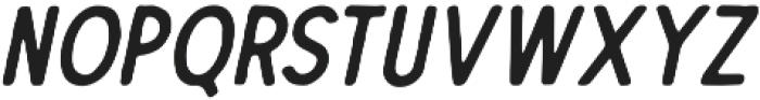 The Dodger Inky Italic otf (400) Font LOWERCASE