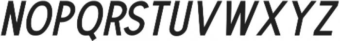 The Dodger Italic otf (400) Font LOWERCASE