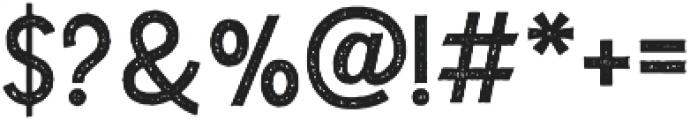The Dodger Stamp otf (400) Font OTHER CHARS