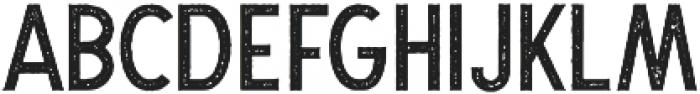 The Dodger Stamp otf (400) Font UPPERCASE