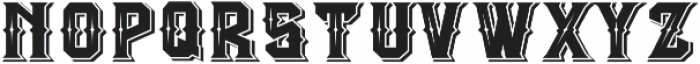 The Empire wars ornament shadow otf (400) Font LOWERCASE
