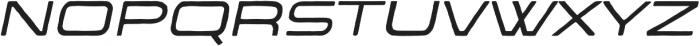 The Falcone Light Italic otf (300) Font UPPERCASE