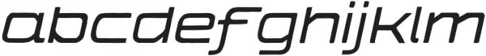 The Falcone Light Italic otf (300) Font LOWERCASE