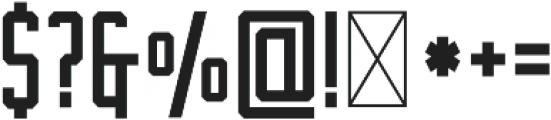 The Farmer Original Regular otf (400) Font OTHER CHARS