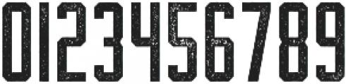 The Farmer Textured Regular ttf (400) Font OTHER CHARS