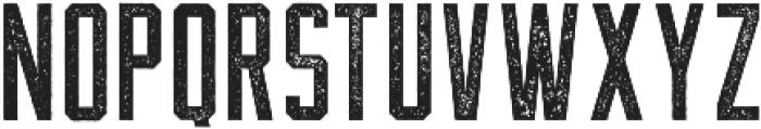 The Farmer Textured Regular ttf (400) Font UPPERCASE