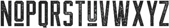 The Farmer Textured Regular ttf (400) Font LOWERCASE