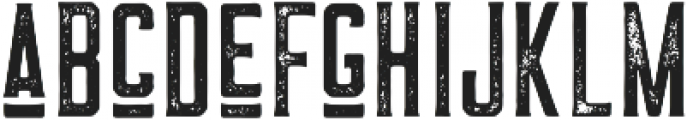 The Farmer Textured Vintage ttf (400) Font LOWERCASE