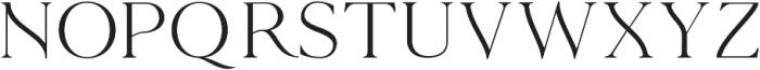 The Florista Serif ttf (400) Font LOWERCASE