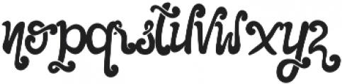 The Foughe Script Regular otf (400) Font LOWERCASE