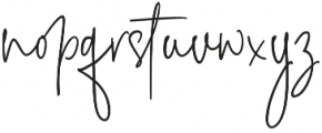 The Fourth Avenue Regular otf (400) Font LOWERCASE