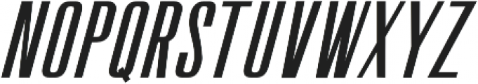 The Fourth Avenue Slant Regular otf (400) Font LOWERCASE