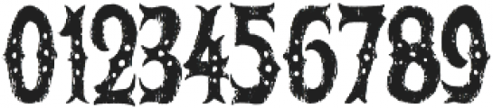 The Freaky Circus otf (400) Font OTHER CHARS