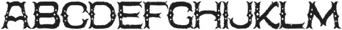 The Freaky Circus otf (400) Font UPPERCASE