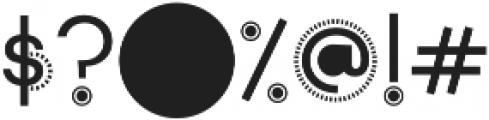The Game Font Regular otf (400) Font OTHER CHARS