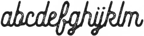 The Gradefoldar Script Normal otf (400) Font LOWERCASE