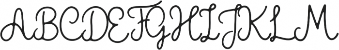 The Grateful 2 otf (400) Font UPPERCASE
