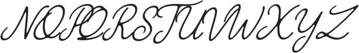 The Grateful 4 otf (400) Font UPPERCASE