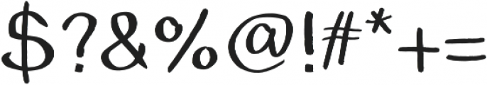 The Grimm Light otf (300) Font OTHER CHARS