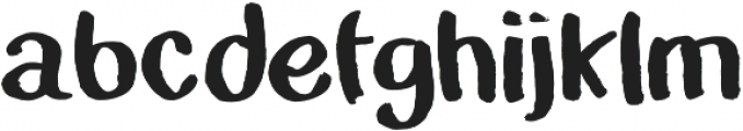 The Grimm otf (700) Font LOWERCASE