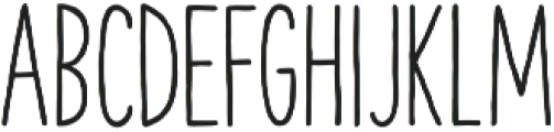 The Hand Bold otf (700) Font UPPERCASE