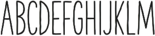 The Hand Bold otf (700) Font LOWERCASE