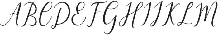 The Himalaya otf (400) Font UPPERCASE