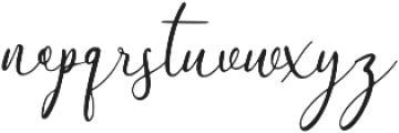 The Himalaya otf (400) Font LOWERCASE