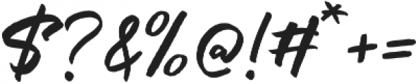 The Historia Solid otf (400) Font OTHER CHARS